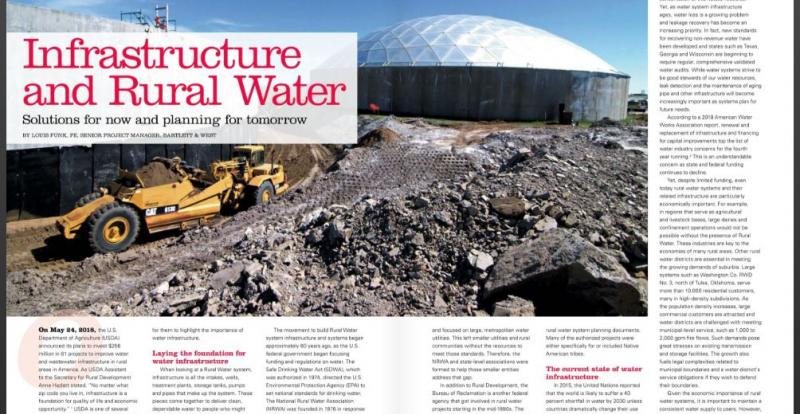Article published in NRWA's magazine