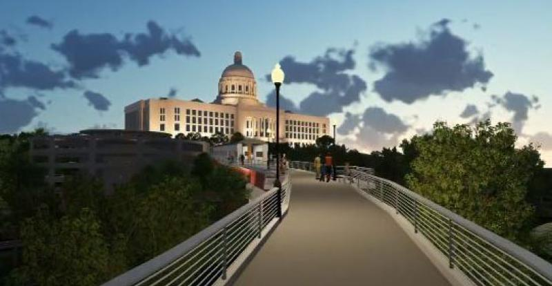 Jefferson City Bicentennial Bridge Rendering