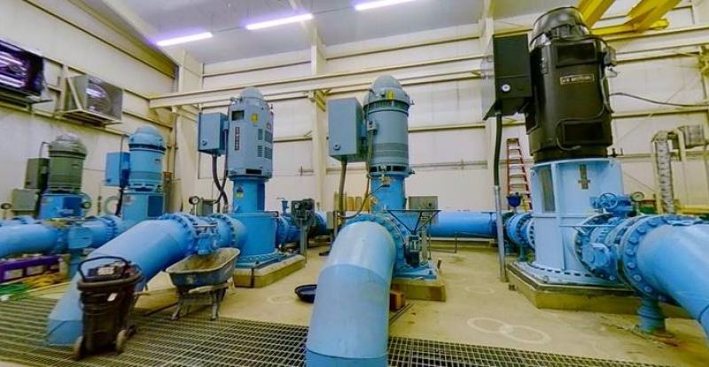 pump station 2D photo